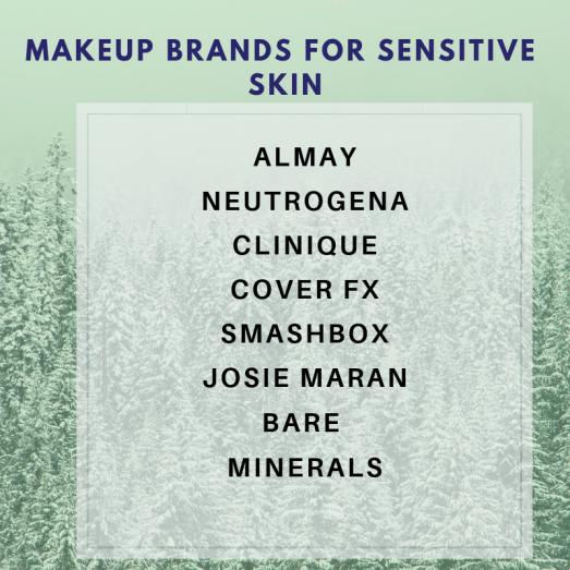 Makeup Brands for Sensitive Skin